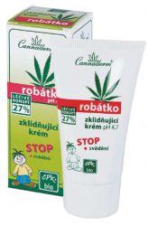 Cannaderm Robátko - zklidňující krém pH 4,7 proti svědění 50 g krabička