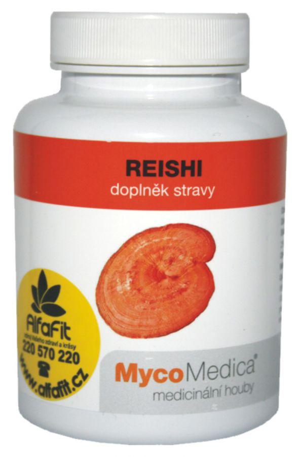 MycoMedica Reishi - Lesklokorka lesklá 90 kapslí