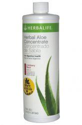 Herbalife Herbal Aloe Kräuter-Konzentrat 473 ml ─ Geschmack Cranberry