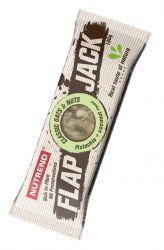 Nutrend FLAPJACK 100 g příchuť pistácie & kokos