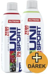 Nutrend UNISPORT ZERO 2x 1000 ml + Spender GRATIS