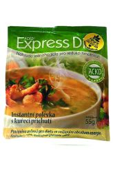 Good Nature Express Diet Instant-Suppe mit Hühnergeschmack 55 g