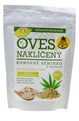 Iswari BIO Glutenfreie Haferflocken – Flocken 360 g – Cannabis & Haferflocken Zimt