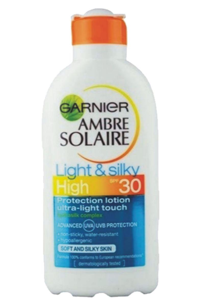Ambre Solaire Opalovací mléko Light and Silky OF 30 - 200 ml