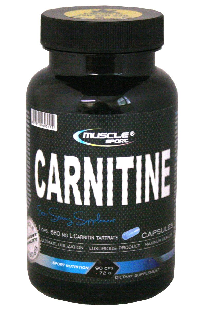 Muscle Sport L-Carnitine 90 Kapseln