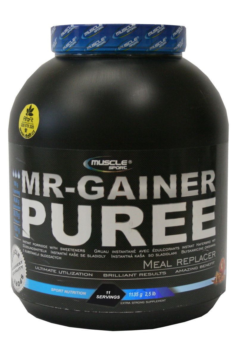 Muscle Sport MR Gainer Puree 1135 g