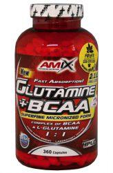 Amix Glutamine + BCAA 360 Kapseln