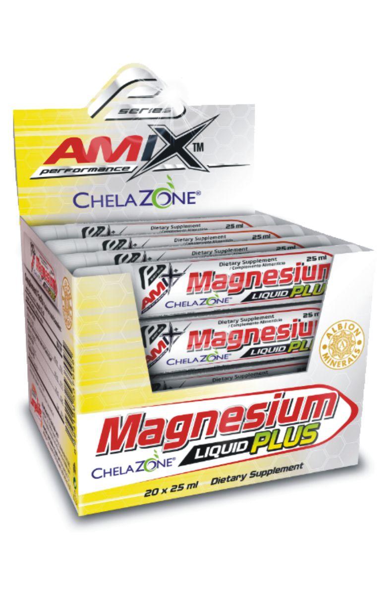 Amix Magnesium Liquid Plus 20 x 25 ml