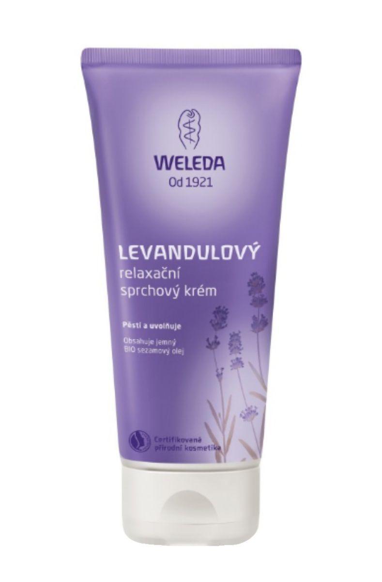 Weleda levandulový relaxační sprchový krém 200 ml