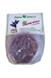 Zelená Země Hanfseife – Lavendel 80 g