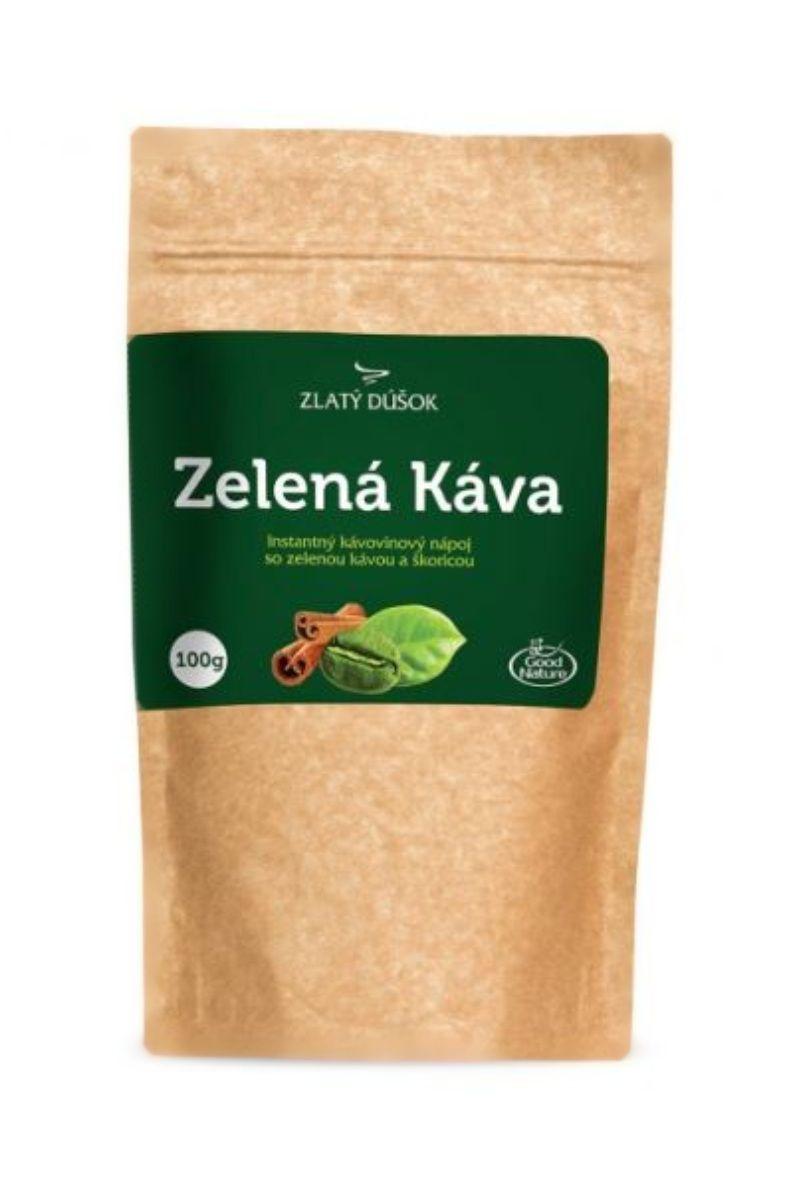 Good Nature Zlatý doušek – zelená káva se skořicí 100 g