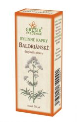 Grešík Baldrian Kräutertropfen 50 ml