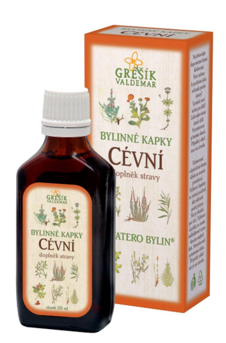Grešík Cévní bylinné kapky 50 ml