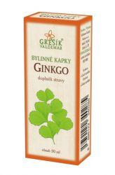 Grešík Ginkgo Kräutertropfen 50 ml