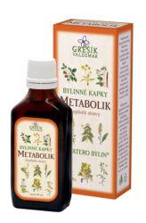 Grešík Metabolik Kräutertropfen 50 ml