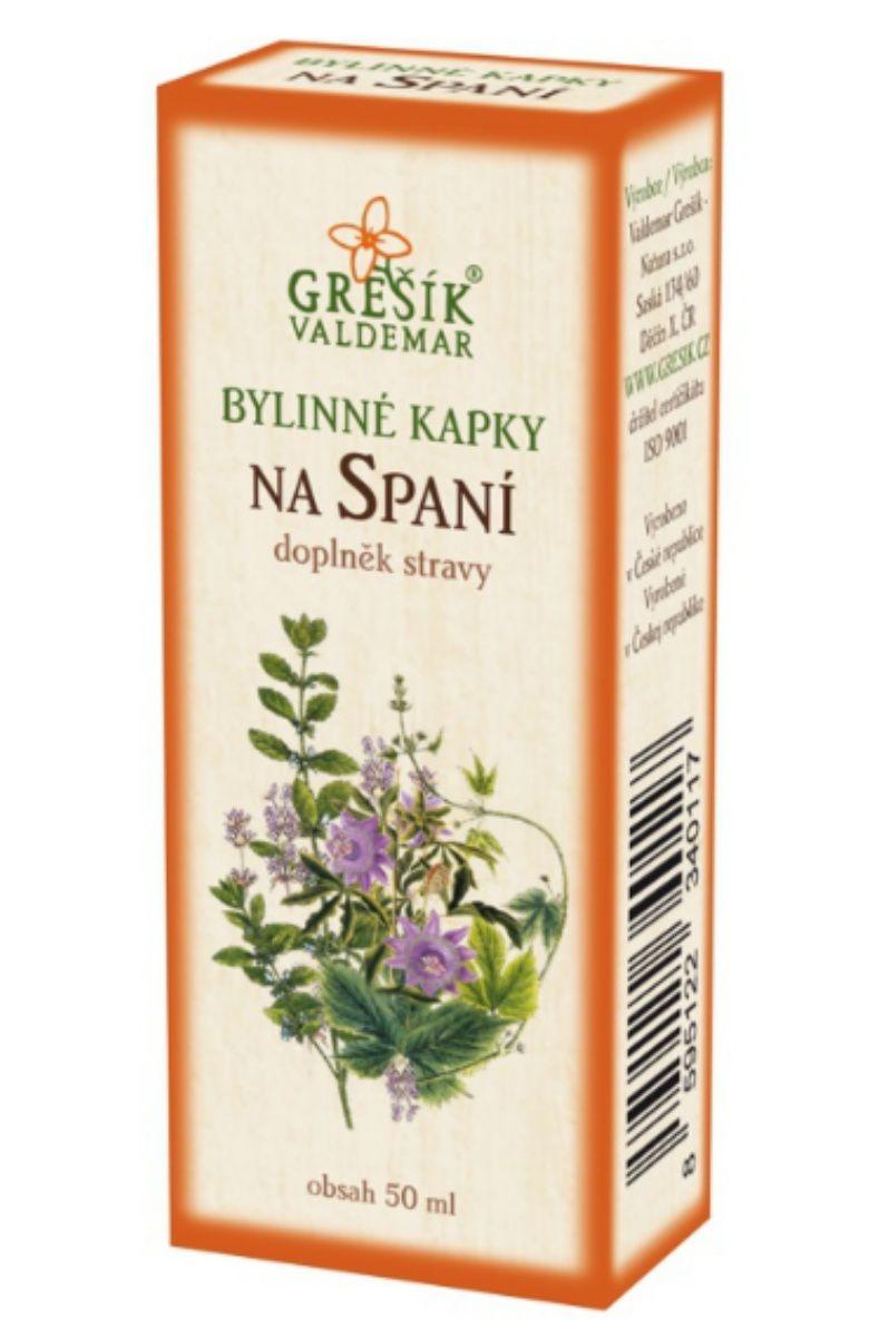 Grešík Na spaní bylinné kapky 50 ml