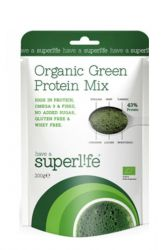 Superlife Organic Green Protein Mix 200 g