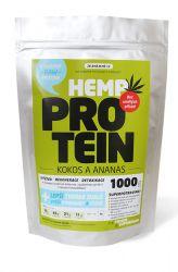 Zelená země Hanf-Protein 1000 g - Kokos & Ananas