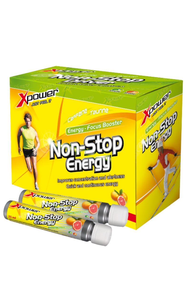Aminostar Xpower Non-stop Energy 25 ml - příchuť grep