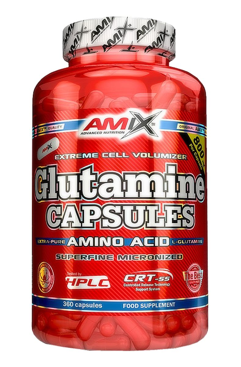 Amix Glutamine Capsules 120 kapslí