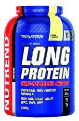 Nutrend LONG PROTEIN 2200 g  | Vanille, Schokolade & Kakao, Zitrone & Joghurt, Marzipan
