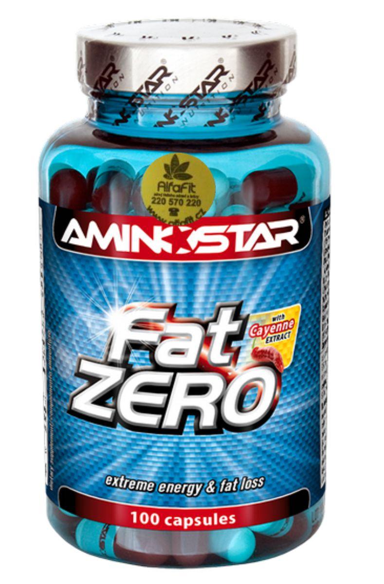 Aminostar FatZero 100 kapslí