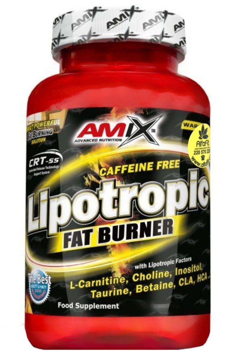 Amix Lipotropic Fat Burner 100 kapslí