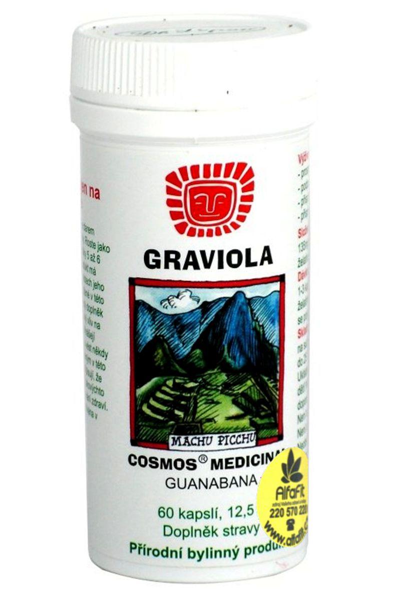 Cosmos Graviola 60 kapslí