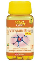 VitaHarmony B 12 – 500 mg – 120 Tabletten