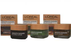 02.05.2018 - NOVINKA - L'Oréal Paris jemné cukrové masky - 3 druhy - za akční cenu 249,- Kč!
