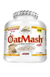 Amix Mr. Popper's Oat Mash 2000 g – Geschmack Limette & Joghurt