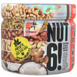 Extrifit Nut 6! 300 g ─ Geschmack doppelte Schokolade