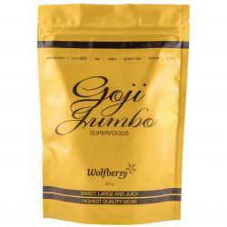 Wolfberry Goji - Chinesische Wolfsbeere verpacktes Jumbo EXTRA EDITION  250 g