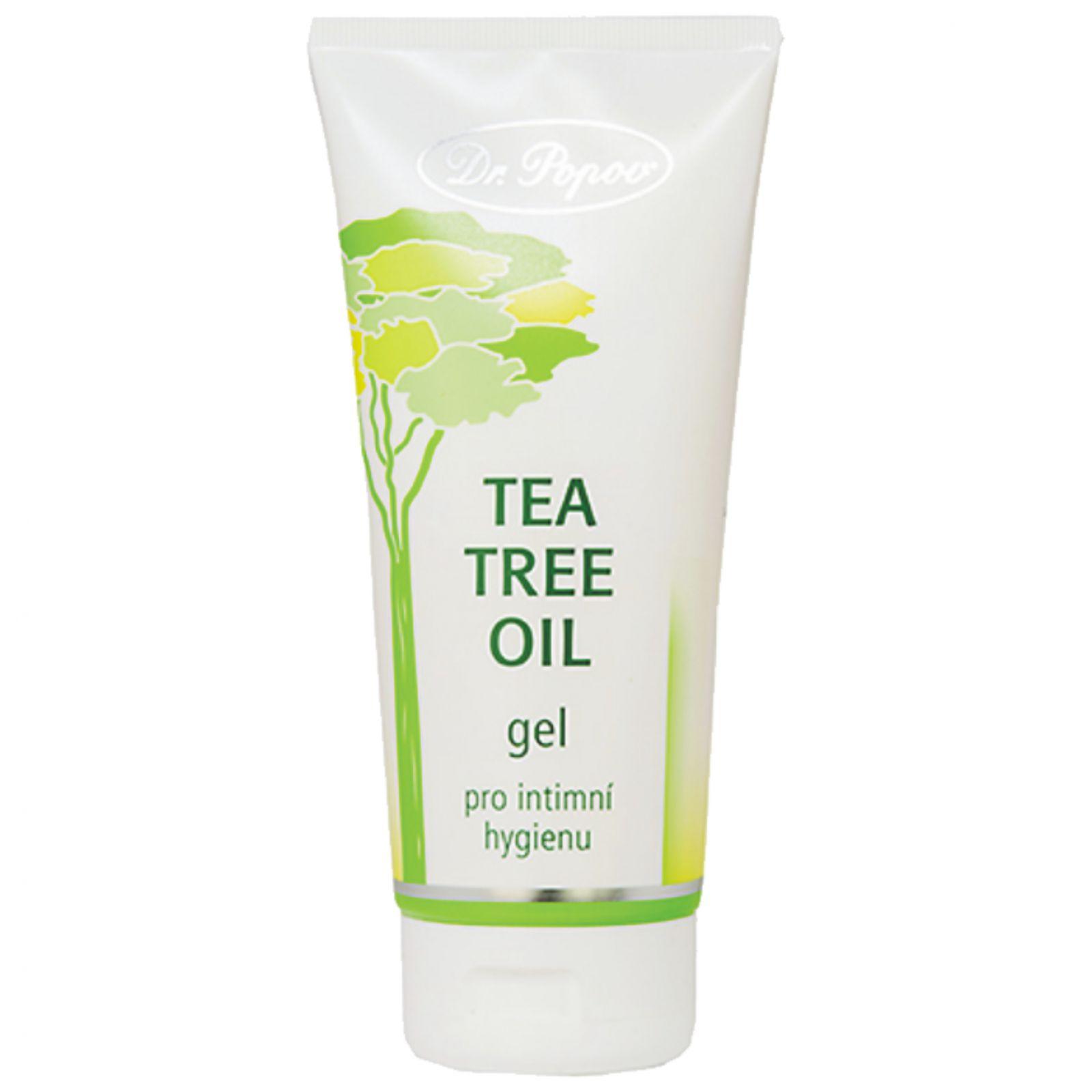 Dr. Popov Tea Tree Oil gel 200 ml