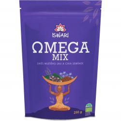 Iswari BIO Omega Mix gemahlene Mischung 250g ─ chia & braunem Leinen