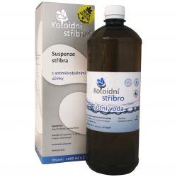 Kolloidales Silber 15 ppm 1000 ml ─ Mundwasser