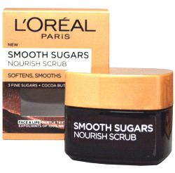 L'Oréal Paris Smooth Sugars Nourish Scrub ─ Soft Nourishing Zucker Peeling 50 ml