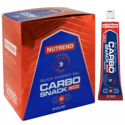 Nutrend Carbosnack with caffeine Tube 12 x 55 g – cola