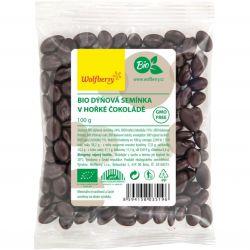 Wolfberry BIO Kürbiskern in dunkler Schokolade 100 g