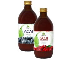 22.08.2018  - Mimořádná nabídka - Sonnenmacht GOJI a ACAI šťávy 500 ml nyní SLEVA až 49%