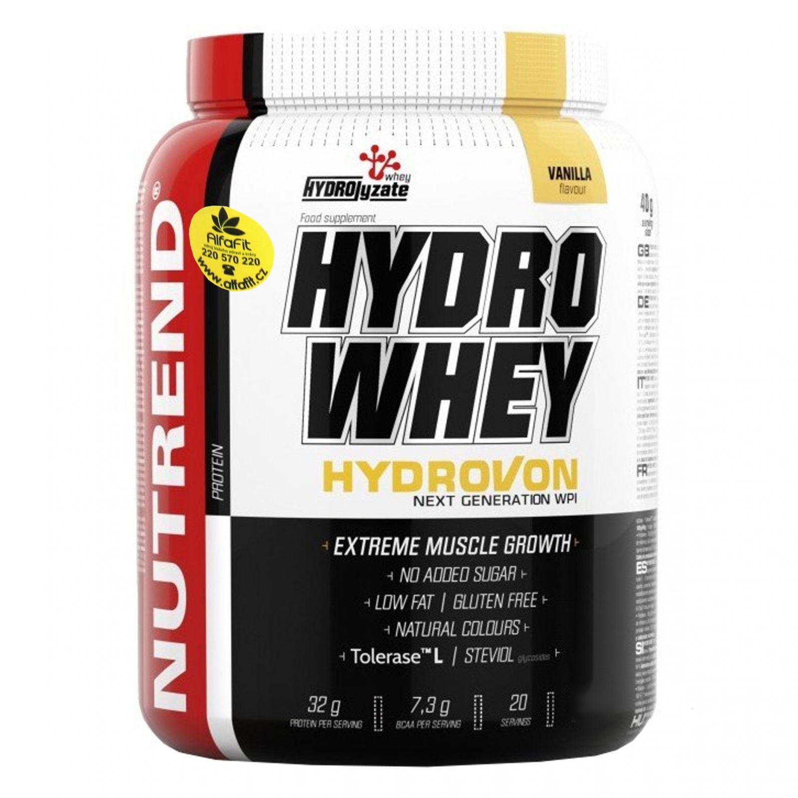 Nutrend HydroWhey 1600 g vanilka