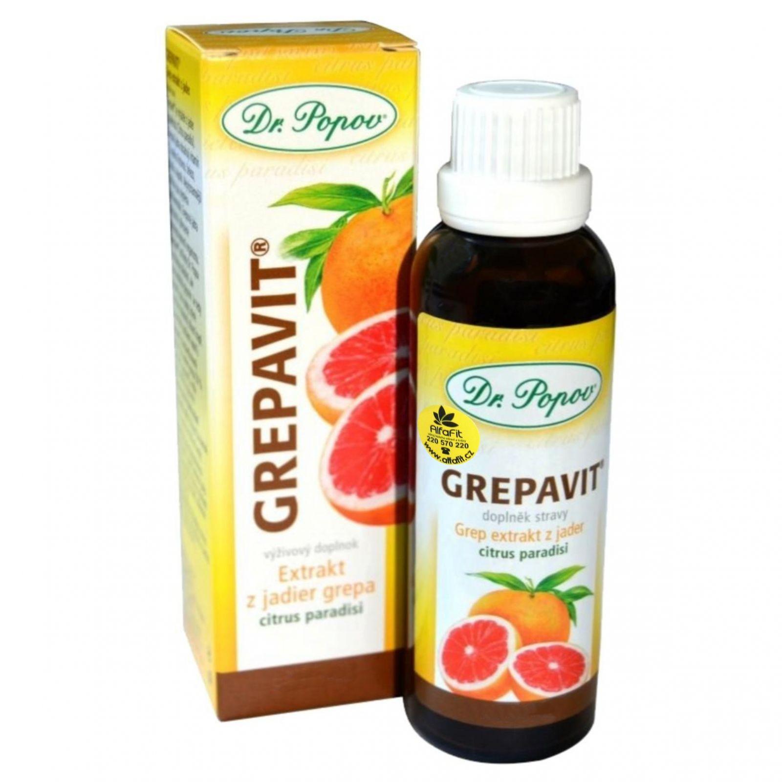 Dr. Popov Grepavit extrakt z grepu