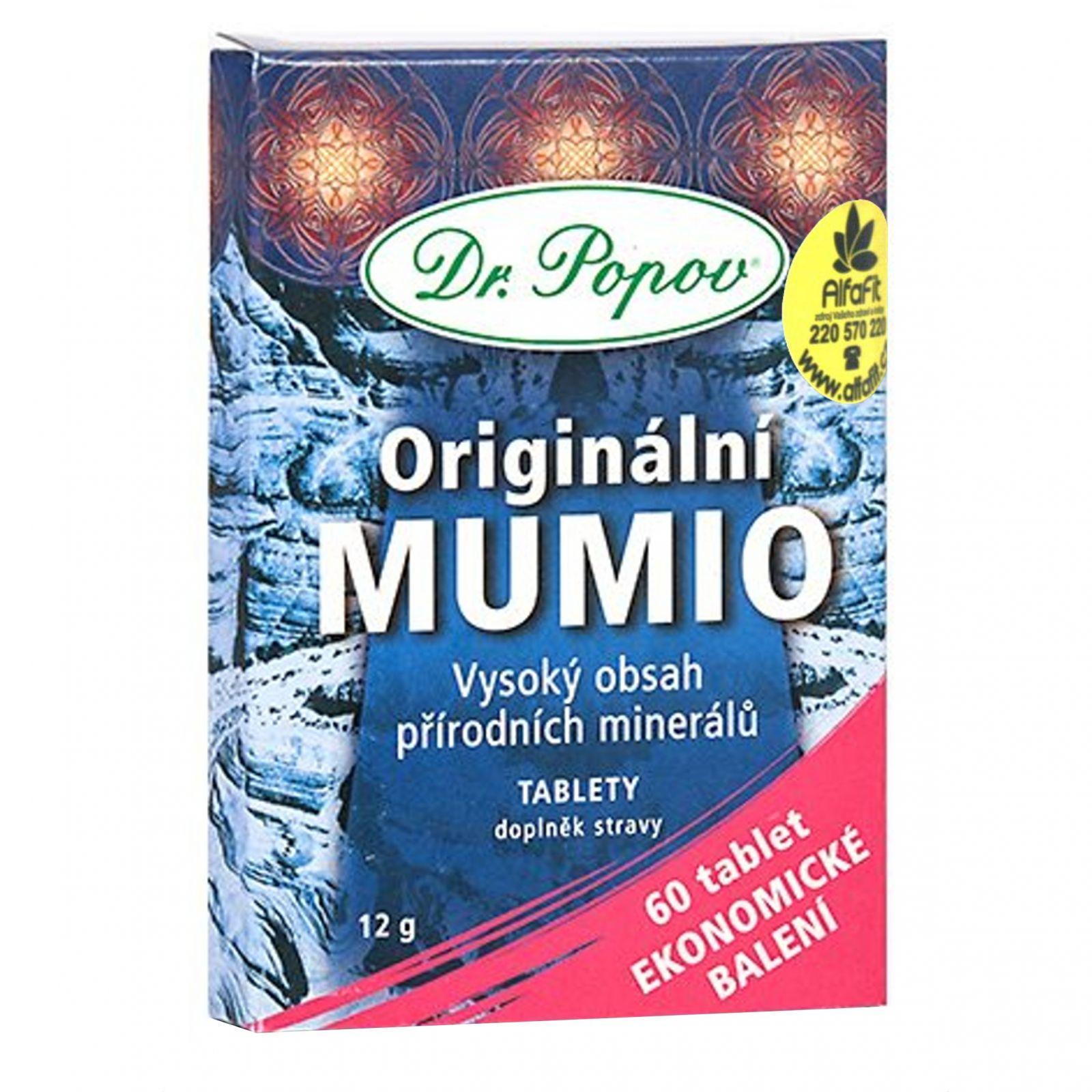 Dr. Popov Mumio 60 tablet