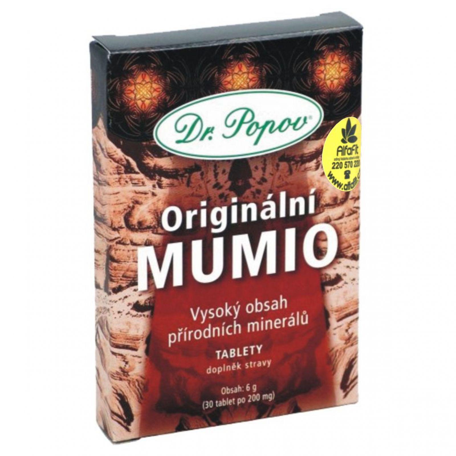 Dr. Popov Mumio 30 tablet