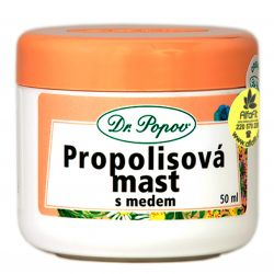 Dr. Popov Propolis-Salbe mit Honig 50 ml