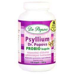 Dr. Popov Psyllium PROBIO 120 Kapseln