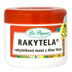 Dr. Popov Rakytela ─ Seabuckthorn Salbe mit Aloe Vera 50 ml