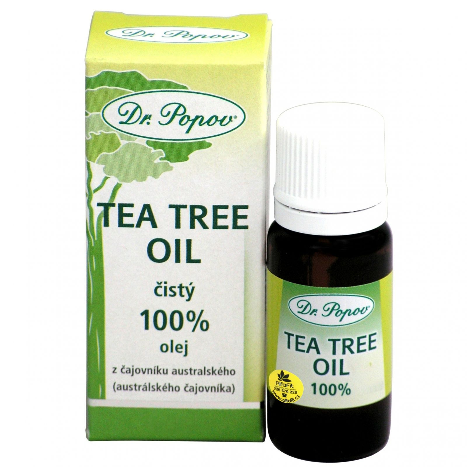 Dr. Popov Tea tree oil 25 ml