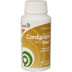 Klas Cordyceps sinensis CS4 500 mg – 90 Kapseln