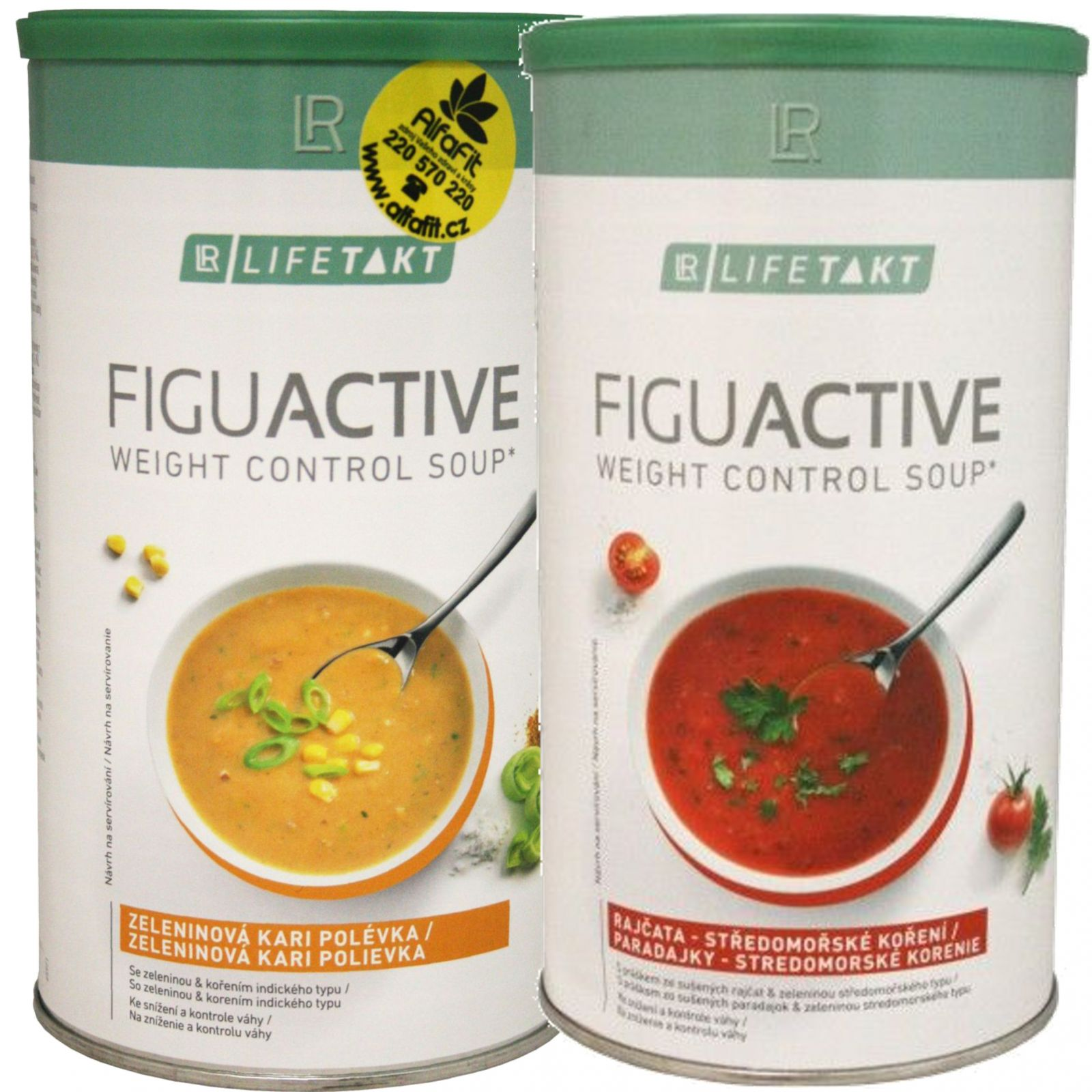 Set LR Suppe - 2x SET LR LIFETAKT Figu Aktiv Suppe 500 g